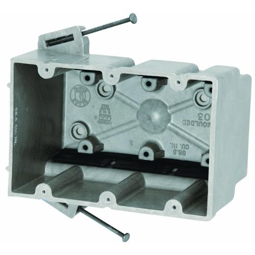 Allied Moulded 3 Gang Switch Box