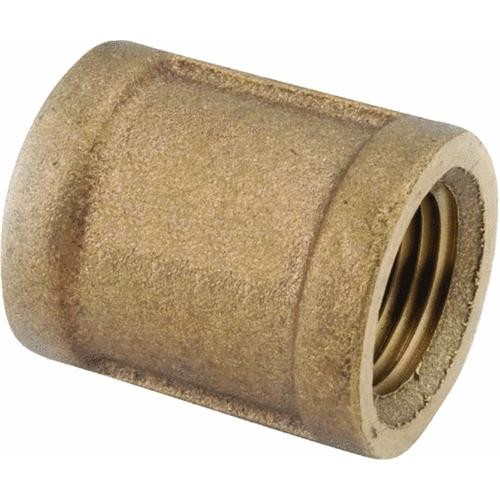 Anderson Metals Corp Inc Threaded Red Brass Coupling