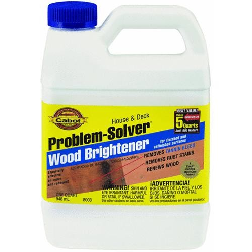 Valspar/Cabot Inc. Cabot Problem-Solver Wood Deck Brightener Concentrate