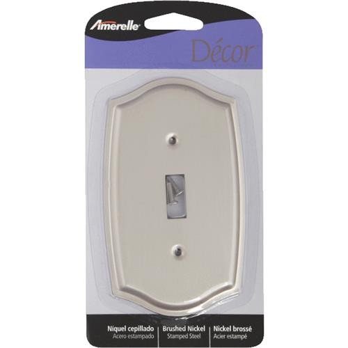 AmerTac Westek Amerelle Sonoma Stamped Steel Switch Wall Plate