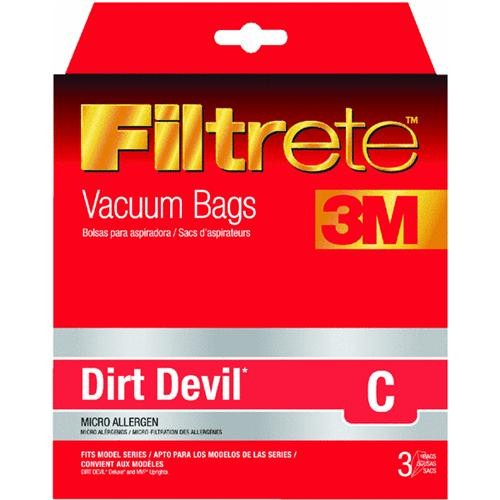 Electrolux Home Care Filtrete Dirt Devil C Vacuum Bag