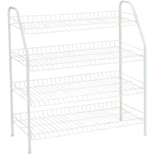 ClosetMaid ClosetMaid 4-Tier Freestanding Shoe Rack