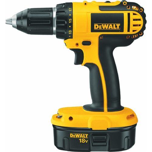 Dewalt DeWalt 18V NiCd Compact Cordless Drill Kit