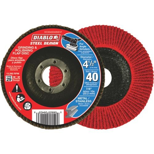 Freud Inc Diablo Type 29 Steel Demon Angle Grinder Flap Disc