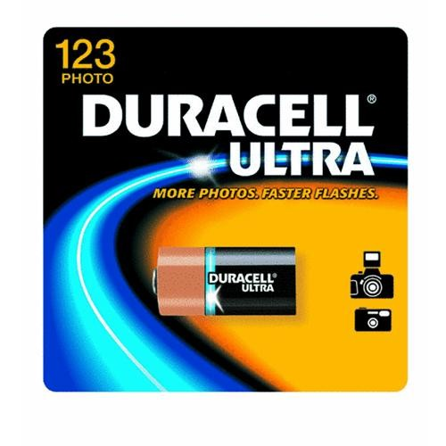 P & G/ Duracell Duracell Ultra 123 Lithium Camera Battery
