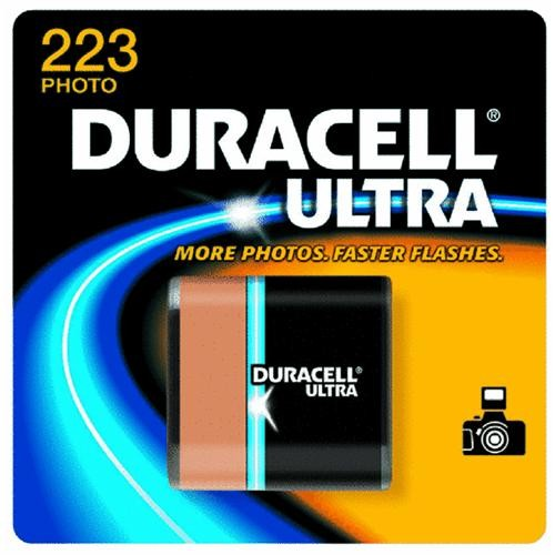 P & G/ Duracell Duracell Ultra 223 Lithium Camera Battery