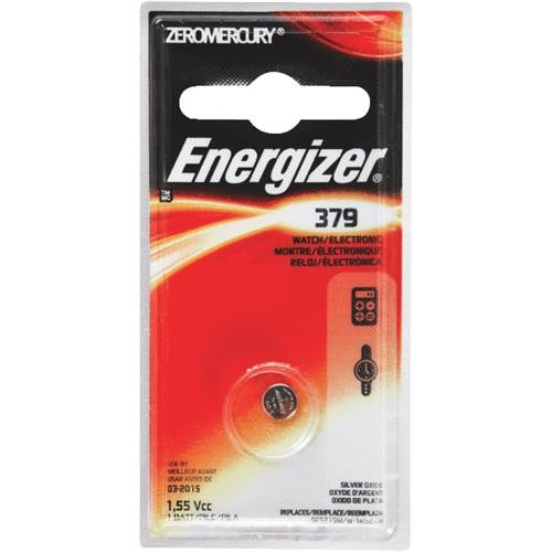 Energizer Energizer 379 Silver Oxide Coin Watch Battery