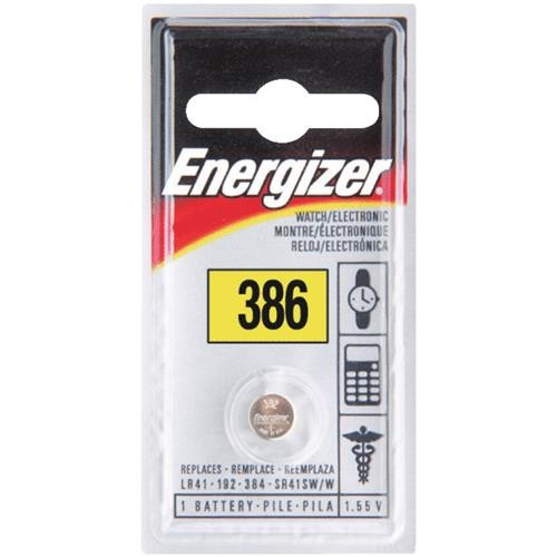 Energizer Energizer 386 Silver Oxide Coin Watch Battery