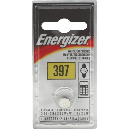Energizer Energizer 397 Silver Oxide Coin Watch Battery