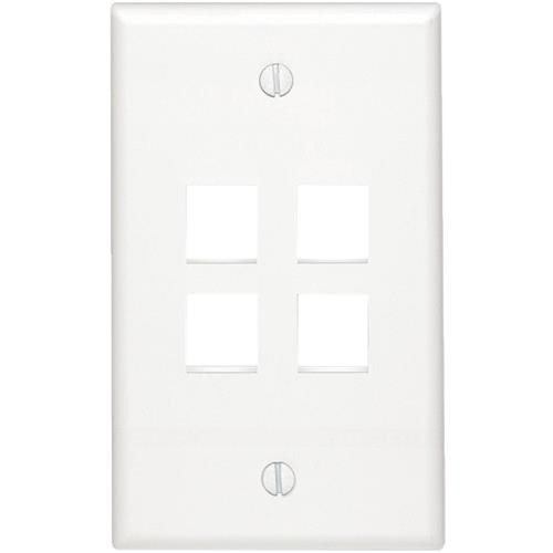 Leviton Flush Mount Wall Plate