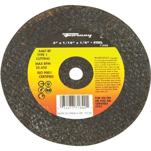 Forney Industries Forney Cut-Off Wheel