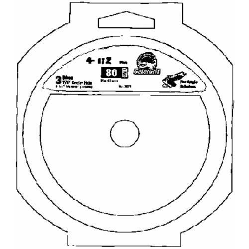 Ali Ind. Gator Abrasive Fiber Disc