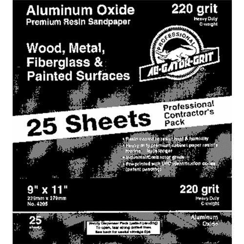 Ali Ind. Gator Multi-Surface Aluminum Oxide Sandpaper