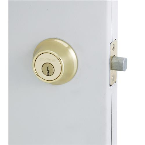 Kwikset Grade 3 Security Single Cylinder Deadbolt