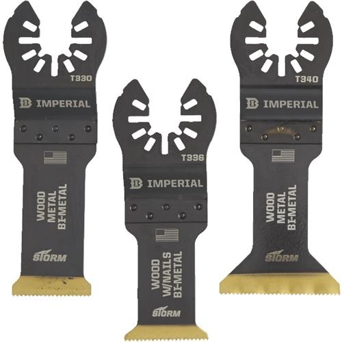 Imperial Blades Imperial Blades ONE FIT 3-Pack STORM Oscillating Blade Assortment