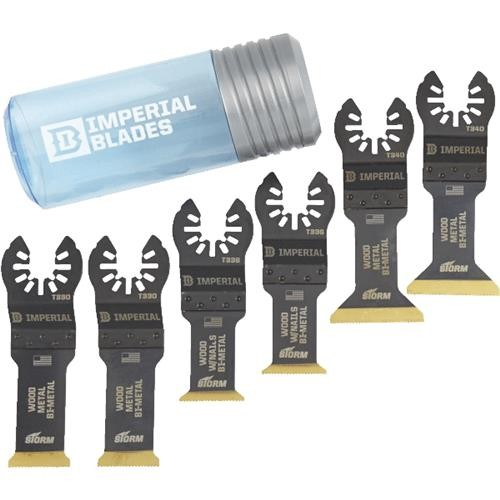 Imperial Blades Imperial Blades ONE FIT 6-Pack STORM Oscillating Blade Assortment