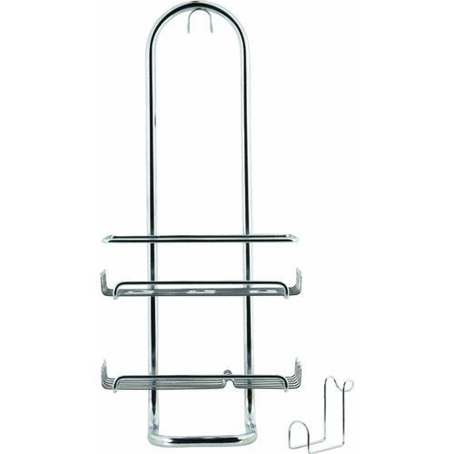 Interdesign InterDesign Classico Silver Shower Caddy