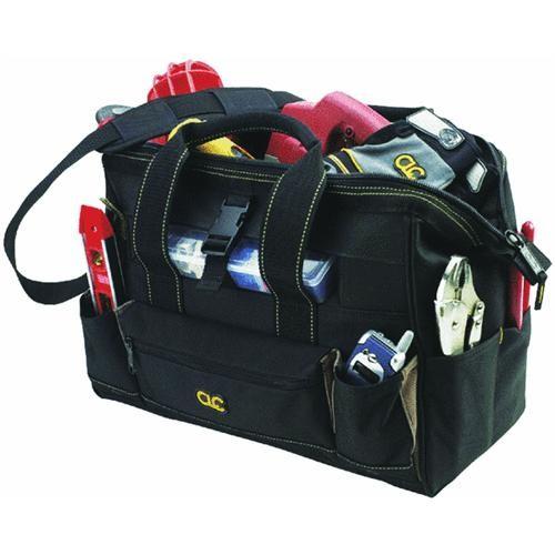 Custom Leathercraft Large Bigmouth Tool Bag