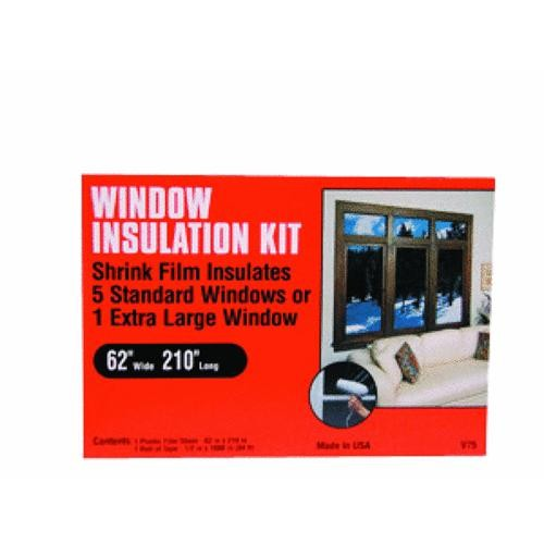 Thermwell Products Co. Frost King Shrink Film Window Kit For Extra Large Window