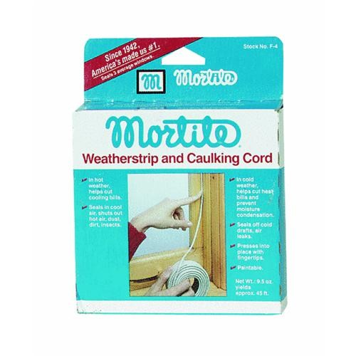 Thermwell Products Co. Mortite Weatherstrip And Caulking Cord