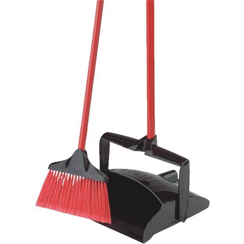 The Libman Company Libman Open-Lid dust Pan With Lobby Broom