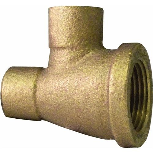 Elkhart Prod. Corp. Low Lead 90 Degrees Adapting Copper Elbow