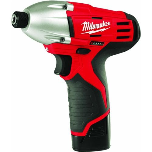 Milwaukee Elec.Tool Milwaukee M12 Lithium-Ion Cordless Impact Driver Kit