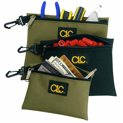 Custom Leathercraft Multipurpose Zippered Storage Bags