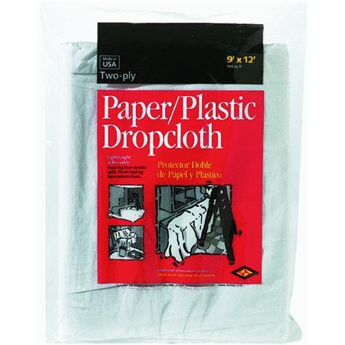 Trimaco LLC Plastic And Paper Combination Drop Cloth
