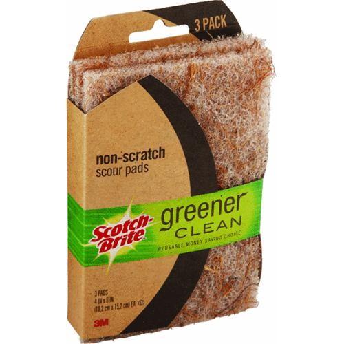 3M Scotch-Brite Greener Clean Scouring Pad
