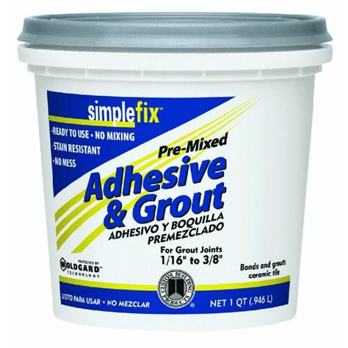 Custom Building Prod. Simplefix Pre-Mixed Adhesive & Grout