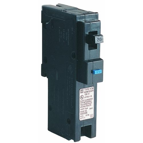 Square D Co. Square D Homeline Single Pole Arc Fault Breaker
