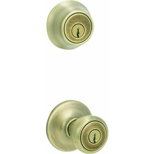 Kwikset Tylo Entry Lockset And Single Cylinder Deadbolt
