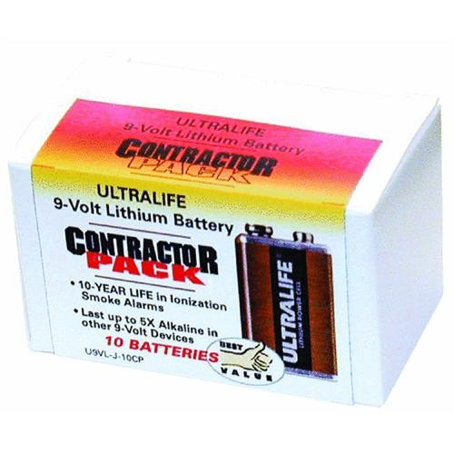Ultra Life Batteries 9V Contractor Battery Pack