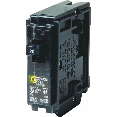 Square D Co. Square D Homeline Single Pole Circuit Breaker