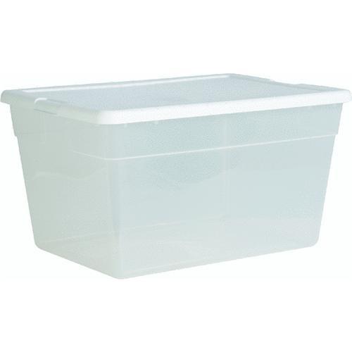 Sterilite Corp. 56 Quart Clear Storage Tote