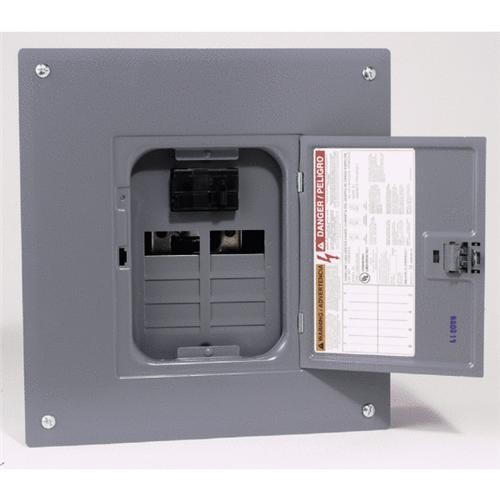 Square D Co. Square D Homeline Main Breaker Plug-on Neutral Load Center