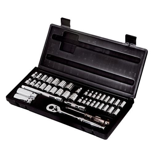 Channellock Products Channellock 63-Piece Combo SAE/Metric Socket Set