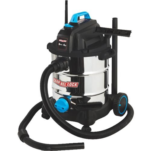 Channellock Products Channellock 8 Gallon Stainless Steel Wet/Dry Vacuum