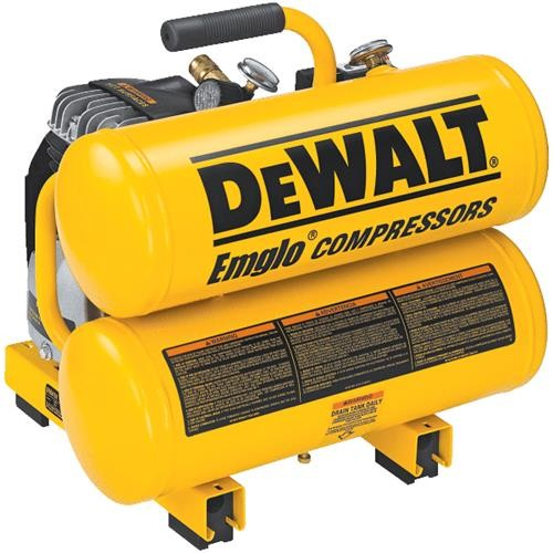 Dewalt DeWalt 4 Gallon Twin Stack Air Compressor