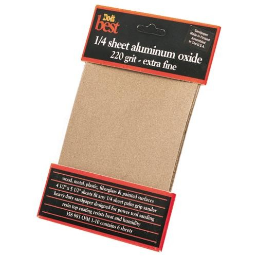 Ali Ind. Do it Best 1/4 Sheet Sandpaper