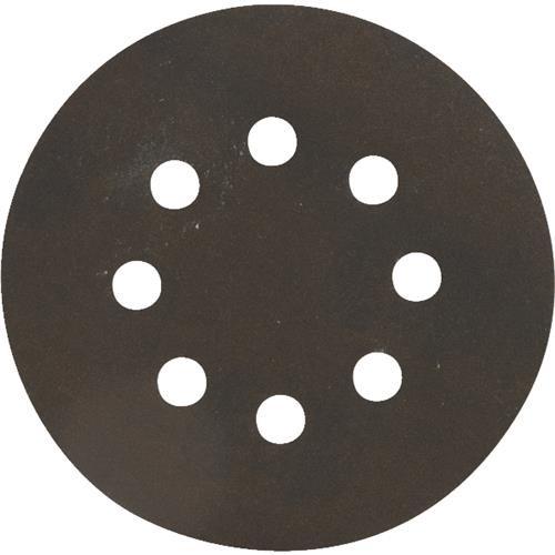 Ali Ind. Do it Best 8-Hole Hook & Loop Black Zirconium Vented Sanding Disc