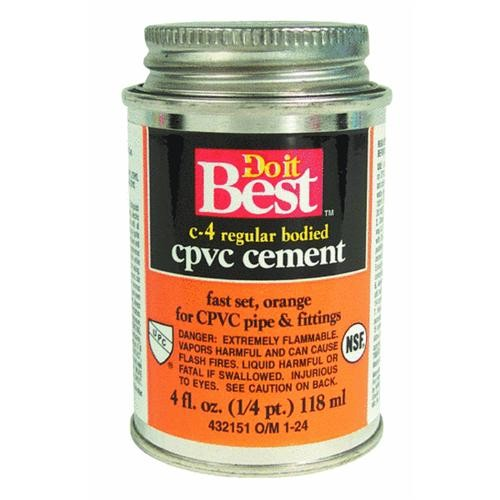 William H. Harvey Do it Best CPVC Cement