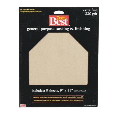 Ali Ind. Do it Best General Purpose Aluminum Oxide Sandpaper
