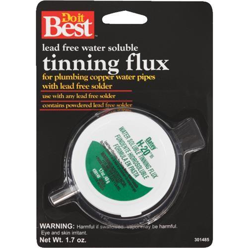 Oatey Do it Best H-2095 Water Soluble Tinning Flux