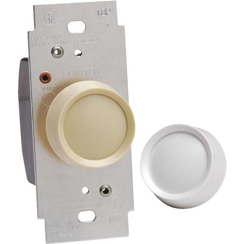 Leviton Do it Best Ivory/White Rotary Dimmer Switch