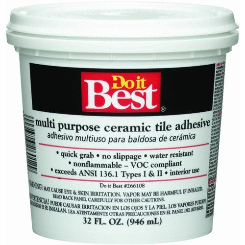 Dap Do it Best Multi Purpose Ceramic Tile Adhesive