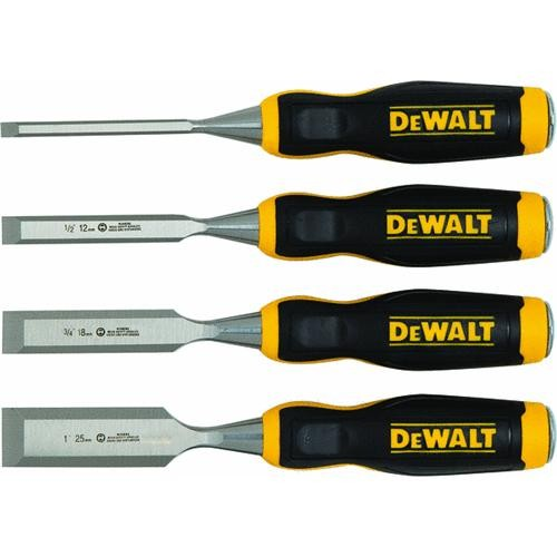 Stanley 4-Piece Wood Chisel Set