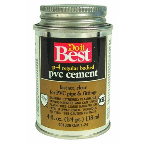 William H. Harvey Do it Best PVC Solvent Cement