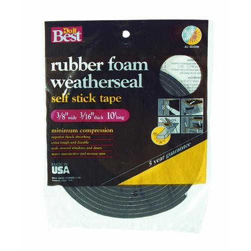Thermwell Products Co. Do it Best Sponge Rubber Weatherstrip Tape